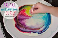 Fun Frugal Activities for Kids - Lots of ideas for indoor fun when it's too cold to play outside