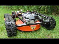 New 2013 Robotic Lawn Mower TRX-22-SE walk-around