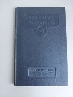 Antique Principles of Tailoring by Woman's by VintagePatternDrawer, $19.95