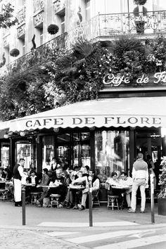 Café De Flore, Boulevard Saint-Germain. By Jamie Beck