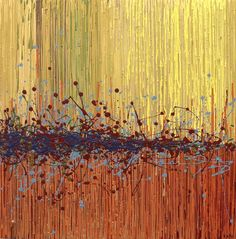 Abstract Painting - Untitled by Kate Tesch