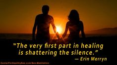 "September 5 meditation on Healing from ""Mirror of Intimacy"". Subscribe: http://www.CenterForHealthySex.com/sex-meditation"