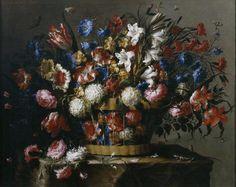Juan de Arellano - Cesta de flores - 1668-70