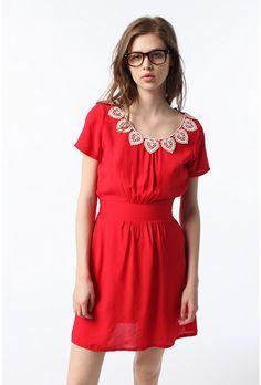 Urban Renewal JOHANN Lace Collar Dress