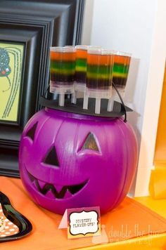 Halloween Jello Push Up Pops #pushuppops #halloween #jello