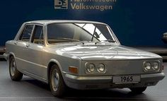 OG | 1965 Volkswagen / VW EA128 Sedan | US Prototype designed to compete the Corvair.