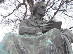 JOHAN FRIEDRICH SCHILLER WHO WROTE ODE TO JOY WHICH BEETHOVEN SET TO MUSIC.  DONATED BY GERMAN COMMUNITY TO BELLE ISLE IN 1908.