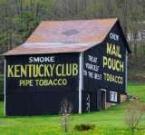 Kentucky Club Pipe Tobacco, still see this on barns that a way~