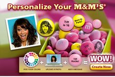 Personalized m & m 's