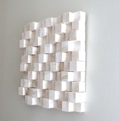 rhythm - pine forest natural wood wall sculpture. $180.00, via Etsy.