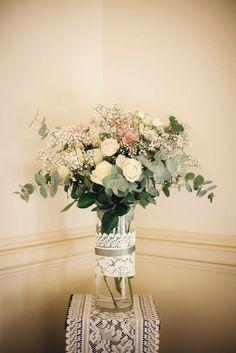 Vintage Flowers | Eden Flower School & Wedding Flowers Wedding Reception, Our Wedding, Wedding Ideas, Wedding Flowers, Wedding Dresses, Vintage Weddings, Vintage Flowers, Bouquet, School
