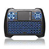 Rolex- #6: ANEWKODI Mini Tastiera Wireless Retroilluminato Touchpad Mouse Combo 24GHz Mini Keyboard Telecomando per Smart TV HTPC IPTV Android TV Box XBOX360 PS3 PC etc - via http://ift.tt/1nDrqv2