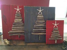 Driftwood Christmas Tree van ClunkenTreasures op Etsy