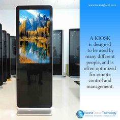 Unlike a typical PC, though, a #kiosk typically performs only a few specific #tasks, is #designed to be used by many different #people, and is often #optimized for #remote #control and #management. #TucanaGlobalTechnology #Manufacturers #Hongkong