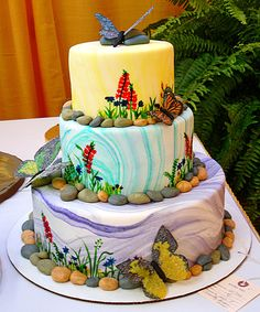 butterfly cake by bunchofpants, via Flickr