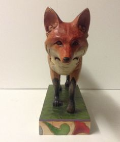 Jim Shore Heartwood Creek 4009752 Large Red Fox | eBay