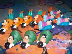 11  1992 Burger King Goof Troop Bowlers  by OwlCreations1 on Etsy, $9.98