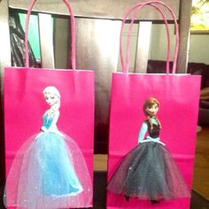 Pink frozen party packs