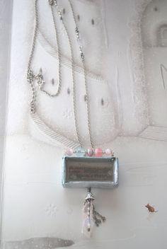 Pendant Necklace-Matchbox 08, $69