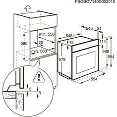 Электрический духовой шкаф AEG BE5531302M