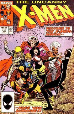 Uncanny X-Men # 219 by Bret Blevins