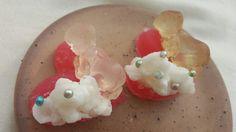 Strawberry soaps.