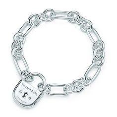 Tiffany & Co. | Item | Tiffany Locks arc lock bracelet in sterling silver, medium. | United States
