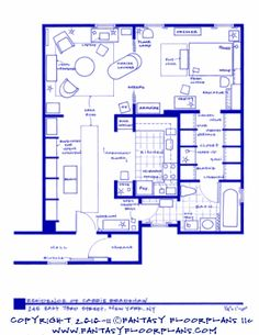 13 Incredibly Detailed Floor Plans Of The Most Famous TV Show ...