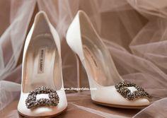 bridal manolo blahnik shoes