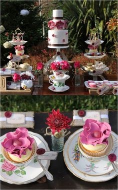 Anthropology High Tea | Event Styling and Photography: Events by Nat