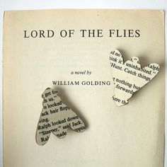 Lord Of The Flies by William Golding | 17 Literary Brooches That Let You Wear Your Favorite Book