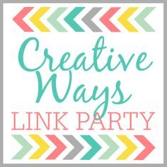 Posed Perfection: Creative Ways Link Party #3