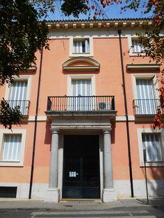 Palacio Osuna-Godoy. Aqui se representa el Motin de Aranjuez en las Fiestas.