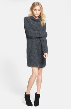MINKPINK 'Tea Cozy' Knit Sweater Dress available at #Nordstrom