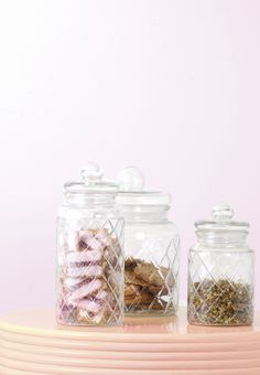 Exciting new stock has arrived. Spruce up your kitchen with the new Maxwell & Williams Trellis Canisters.