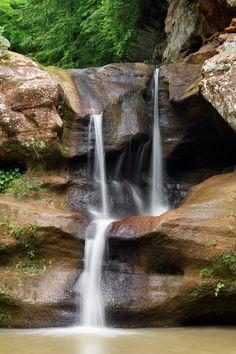 Upper Falls - Old Mans Cave, Ohio's Hocking Hills, Logan, Ohio