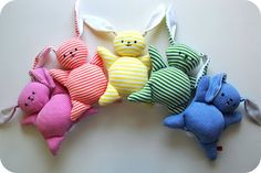 """Mooshy Bunny"" tee shirt soft toy tutorial."