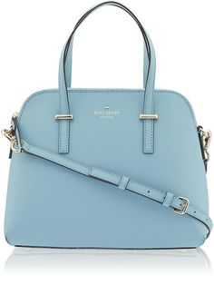 Fab colour and shape - Kate Spade New York Womens Cedar Street Maise Size One Size - Celeste Blue by: Kate Spade New York Cedar Street Maise, Design Bleu, Sacs Design, Mode Shop, Cute Purses, Cute Bags, Beautiful Bags, Kate Spade Bag, My Bags