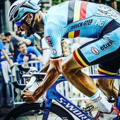 "Big TOM BOONEN. A Belgian national champion, world champion and one of the hardest men in the sport. Loved my his country and affectionately nicknamed ""Tommeke"" - flemish for ""little Tom."""