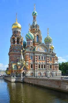Church of the Savior on Spilled Blood (cornerstone laid completed St Petersburg - The church, built alongside Griboedov Canal, was built on the site where Alexander II was assassinated, March Russian Architecture, Sacred Architecture, Church Architecture, Beautiful Architecture, Beautiful Castles, Beautiful Buildings, Beautiful Places, Places Around The World, Around The Worlds