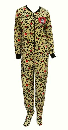 Disney s Minnie Mouse Leopard Onesie Footie Pajama The perfect jammies for  any Disney fan! These d504eb79491