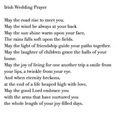 Irish Wedding Prayer Blessing Talk With Your Officiant About The Type Of You Want
