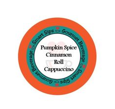 Pumpkin Spice Cinnamon Roll Cappuccino, 24 Count, Compatible With All Keurig K-cup Brewers