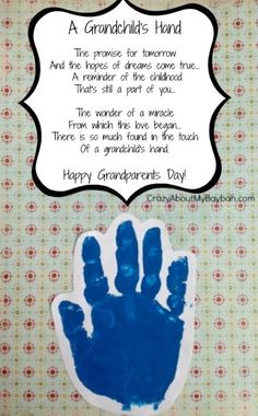 Grandparents play a special part in a child's life and a gift to a grandparent should be just as special.   Here are a few fun gi...