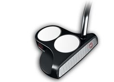 The Metal-X 2-Ball Putter has an extended mallet head with a double-bend shaft and half-shaft offset. Golf Clubs