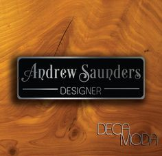 PERSONALIZED DOOR SIGN Check more at http://www.decamoda.com/product/personalized-door-sign/