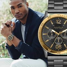 15% off Caravelle watches @brianmichaelsjewelers!