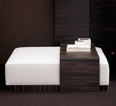Coffee table & ottoman combo. Must figure out something like this...