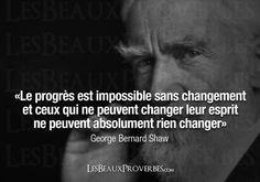 Les Beaux Proverbes – Proverbes, citations et pensées positives » » Le progrès