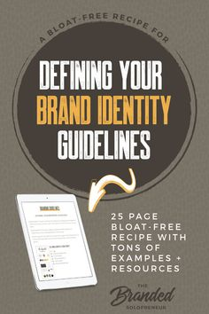 This 25-page ebook (instant PDF download) is more than your average branding 409d4c478716